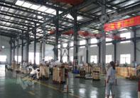 生产中的scb10干式变压器